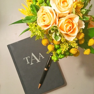 planner-with-flowers