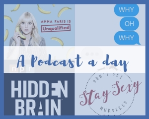A Podcast A Day Blog Graphic